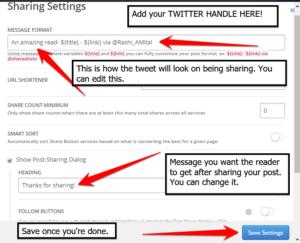 Shareaholic Social Media Plugin